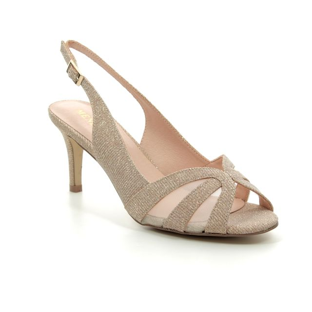 Menbur Heeled Sandals - Stone - 20240/87 VALANTO