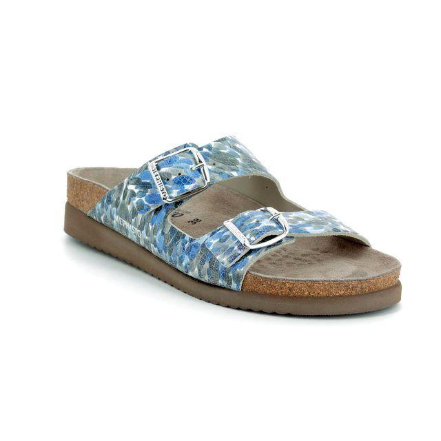 Mephisto Sandals - Light Grey - H1200WY/3805 HARMONY MONET