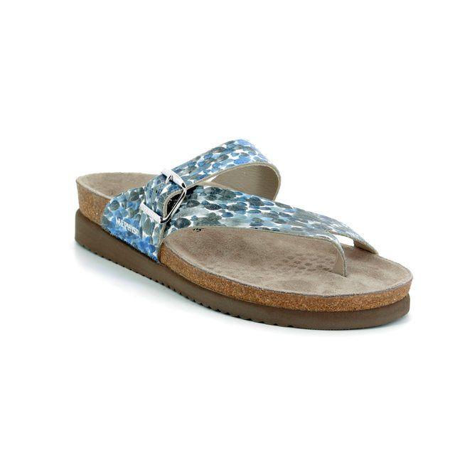 Mephisto Sandals - Blue multi - H017WY0/8009 HELEN MONET