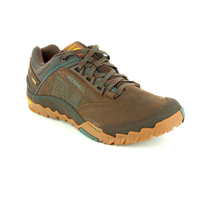 Merrell Annex Gore J32191 Brown multi casual shoes