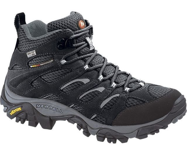 Merrell Moab Gore J58878 Black multi casual shoes
