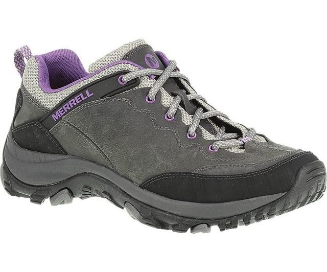 Merrell Salida Trekker J24476 Grey multi lacing shoes