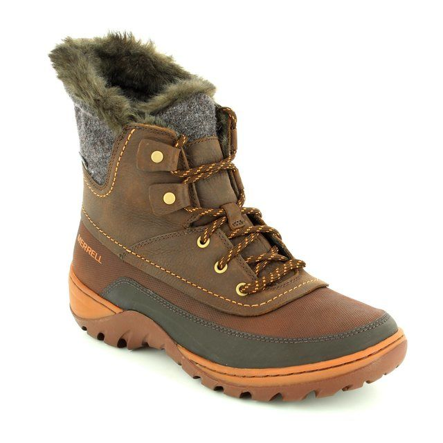 Merrell Ankle Boots - Brown multi - J02094/20 SYLVA MID LACE