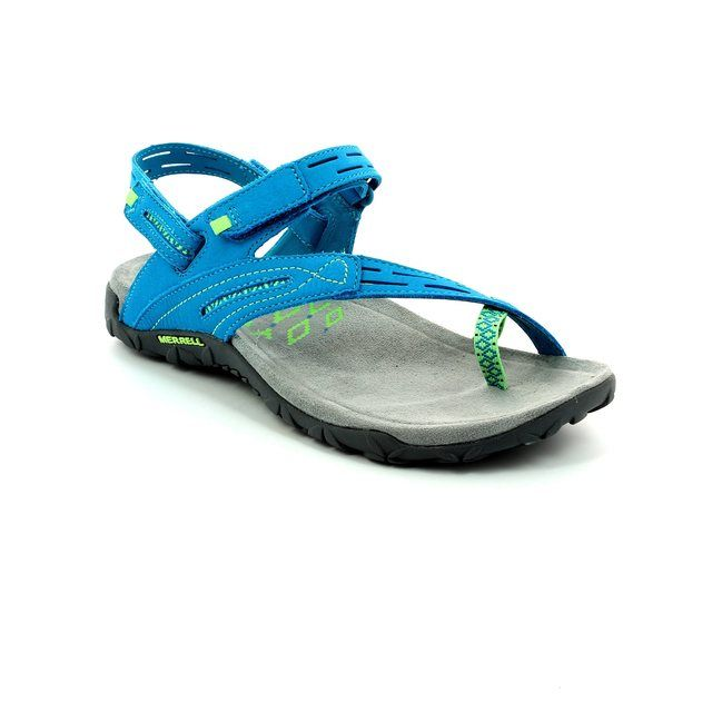 Merrell Terran Convert J55362 Teal blue Walking Sandals