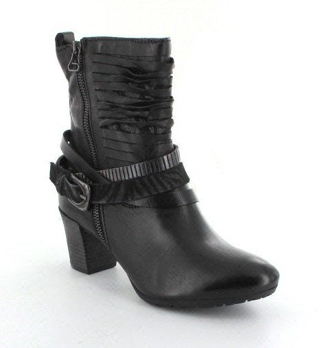 Exclusive to Begg Shoes Ankle Boots - Black - 559206/106002 SLICE
