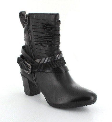 Mjus Slice 559206-106002 Black ankle boots