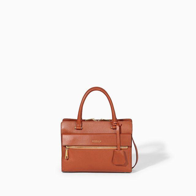 Modalu Mh4789  Erin 004789-20 Dark Tan handbag