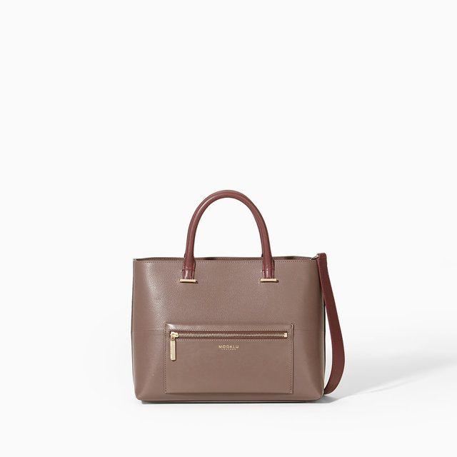 Modalu Mh5068  Primr 005068-80 Taupe handbag