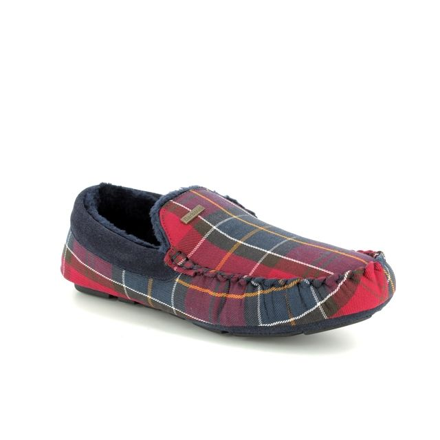 Barbour Slippers - Red multi - MSL0001RE71 MONTY