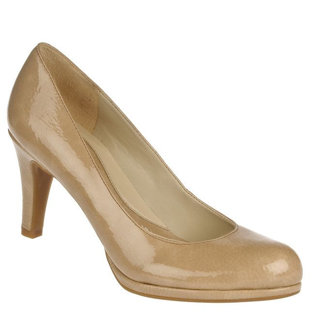 Naturalizer Heeled Shoes - Light Taupe patent - 44898/85 LENNOX