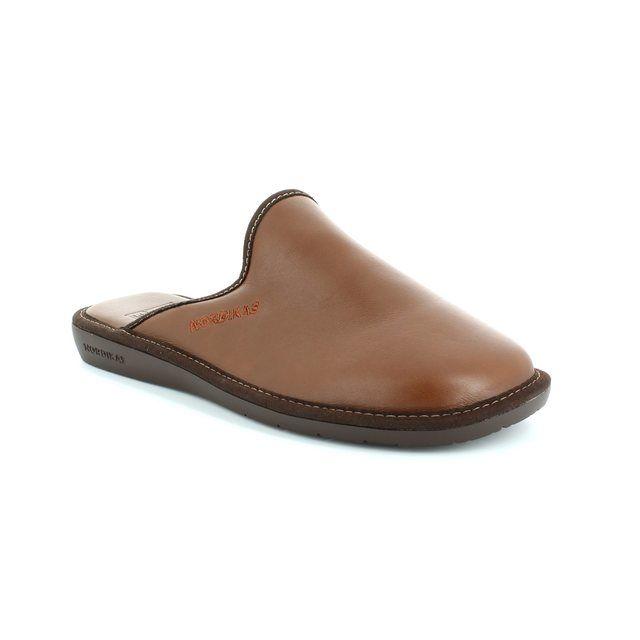 Nordikas Menleamu 42 0131-26 Tan house shoe
