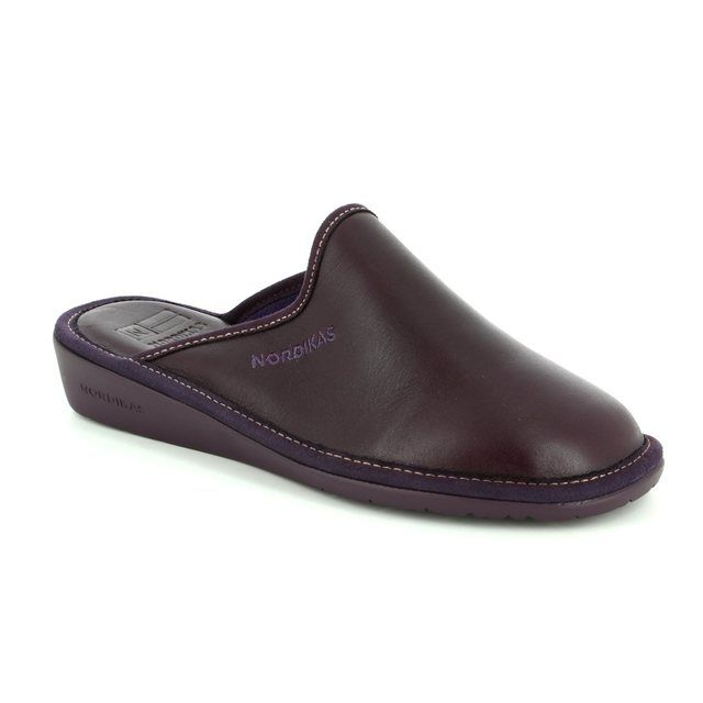 Nordikas Slipper Mules - Purple - 0347/8 MULEA  NEW