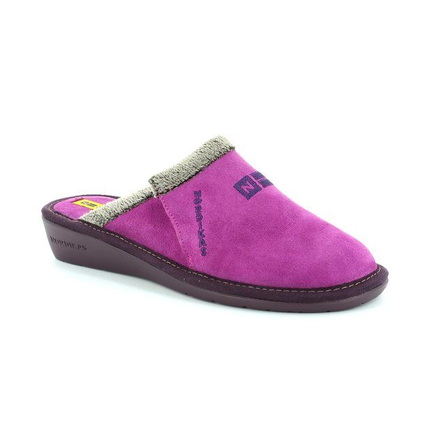 Nordikas Muvel 8132-8 Lilac slipper mules
