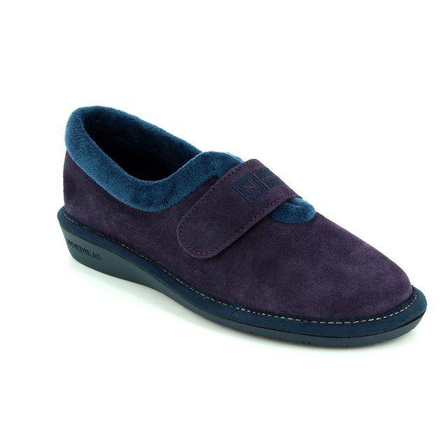 Nordikas Slippers - Purple - 6348/4 NORVEL