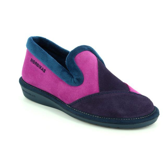 Nordikas Slippers - Purple multi - 4508/4 TAPATCH 72