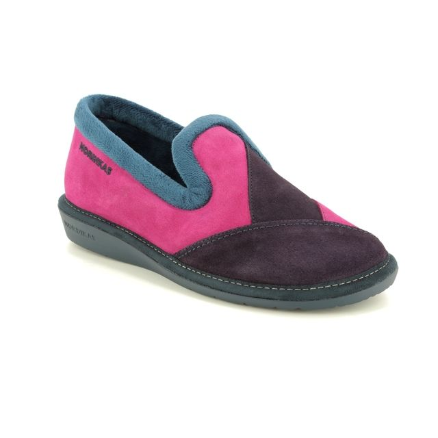 Nordikas Slippers - Fuchsia multi - 4508/45 TAPATCH 72
