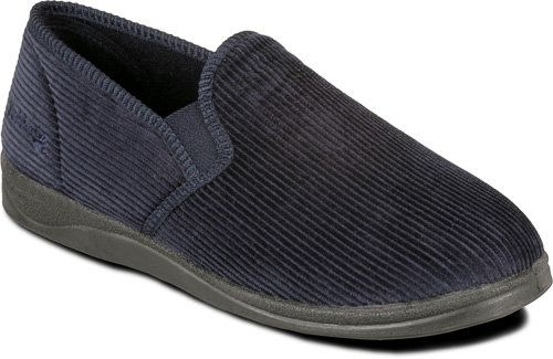 Padders Albert 408-25 Navy slippers
