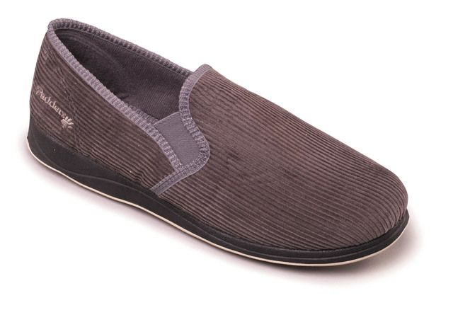 Padders Slippers - Grey - 408-99 ALBERT