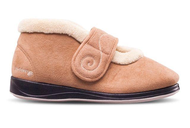 Padders Slippers - Tan - 409-22 HUSH