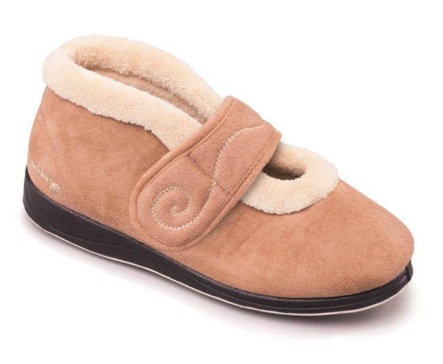 Padders Hush 409-22 Tan slippers