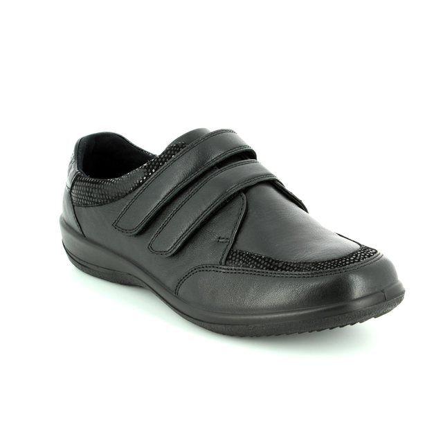 Padders Caitlin 2e/3e 668-38 Black comfort shoes