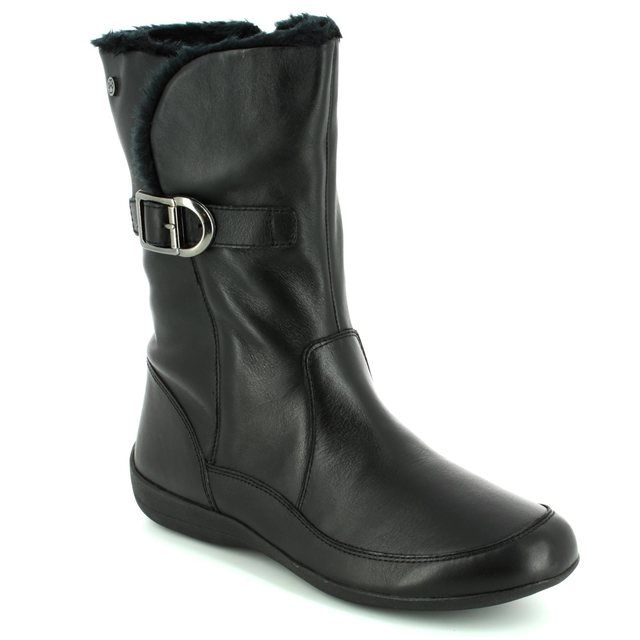 Padders Ankle Boots - Black - 0523/10 CAMDEN 2E FIT