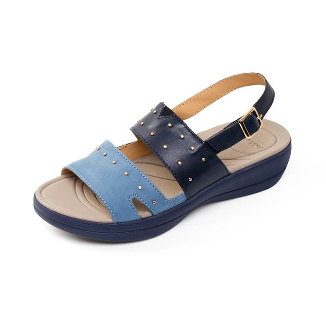 Padders Sandals - Navy multi - 752-96 CAMEO