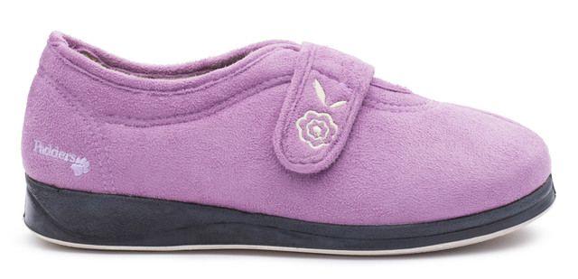 Padders Slippers - Purple - 0447-17 CAMILLA