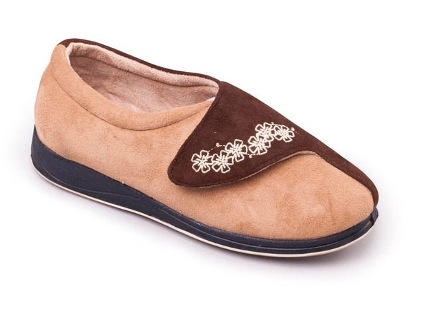 78fbed5afdc Padders Mellow 2E Fit 460-41 Dark Red slippers