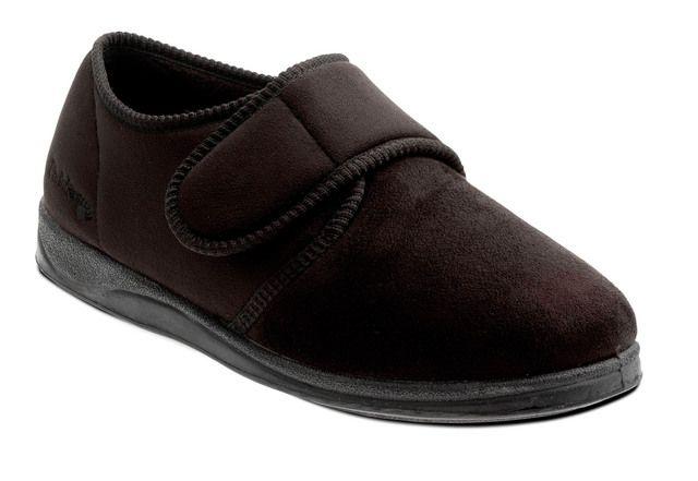 Padders Slippers - Black - 411-56 CHARLES