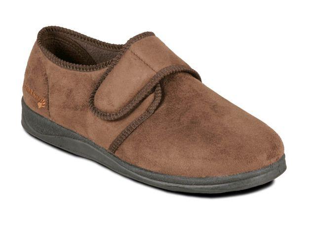 Padders Slippers - Brown - 411-87 CHARLES