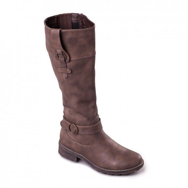 Padders Chicago P217-21 Taupe long boots