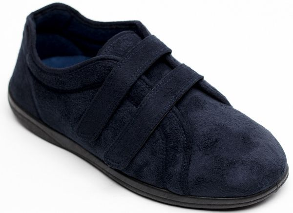 Padders Slippers - Navy - 0415/24 DUAL   G-H FIT