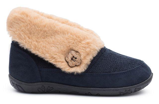 Padders Slippers - Blue - 430-24 EDEN