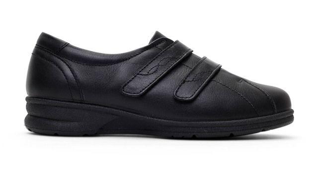Padders Comfort Shoes - Black - 351-10 KERRY