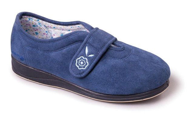 Padders Slippers - Blue - 447-29 CAMILLA