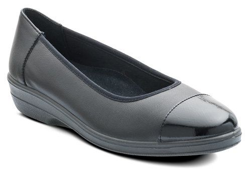 Padders Comfort Shoes - Black - 648/38 FEARNE 2E FIT