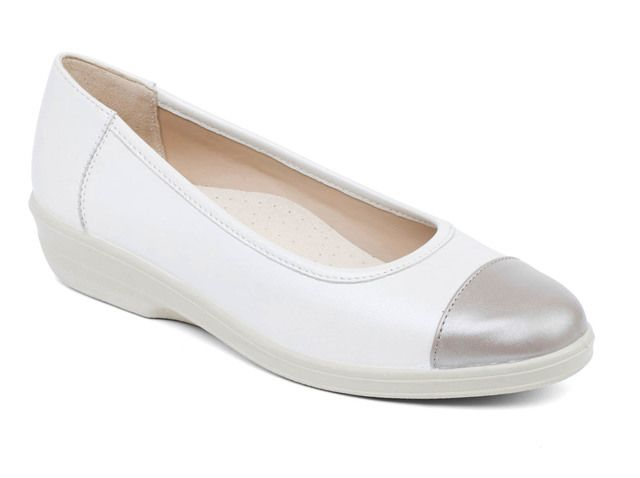 Padders Comfort Shoes - Pewter - 648-64 FEARNE EE FIT