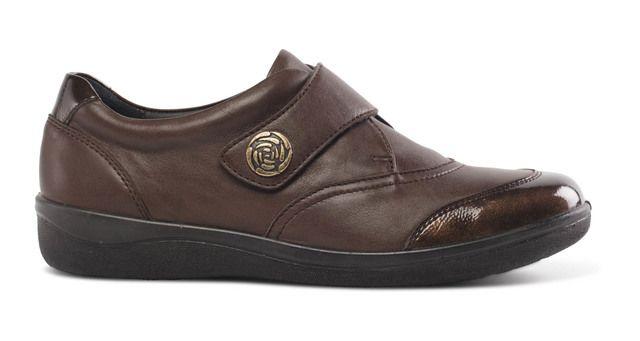 Padders Comfort Shoes - Brown - 247-61 GABY
