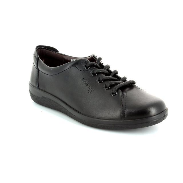 Padders Lacing Shoes - Black - 0226/10 GALAXY 2 E FIT