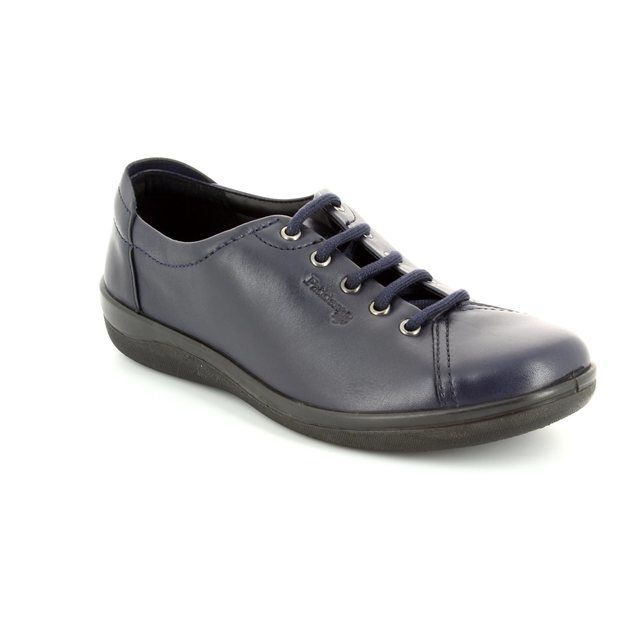 Padders Lacing Shoes - Navy - 0226/24 GALAXY 2 E FIT