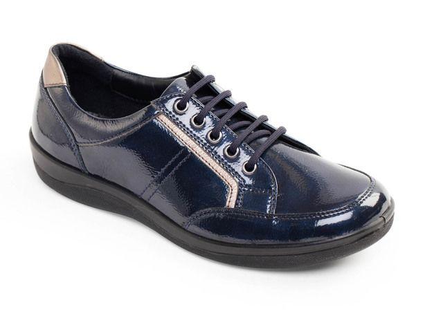 Padders Comfort Shoes - Blue - 240-23 ATOM