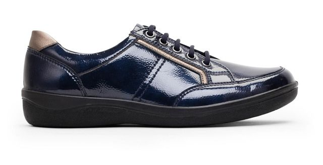 Padders Comfort Shoes - Blue - 240-23 ATOM