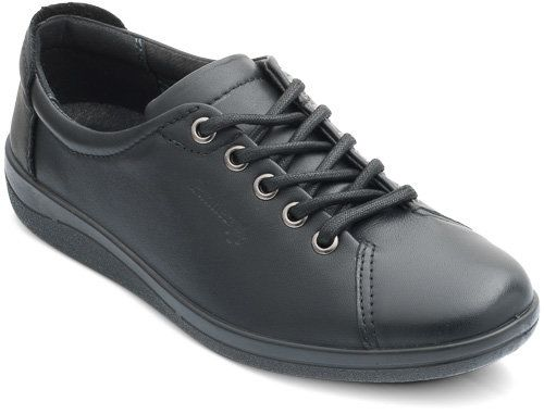 Padders Galaxy 235-10 Black lacing shoes