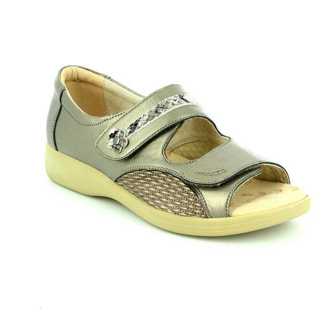 Padders Comfort Shoes - Metallic - 0723/64 GRACE 3E-4E FIT