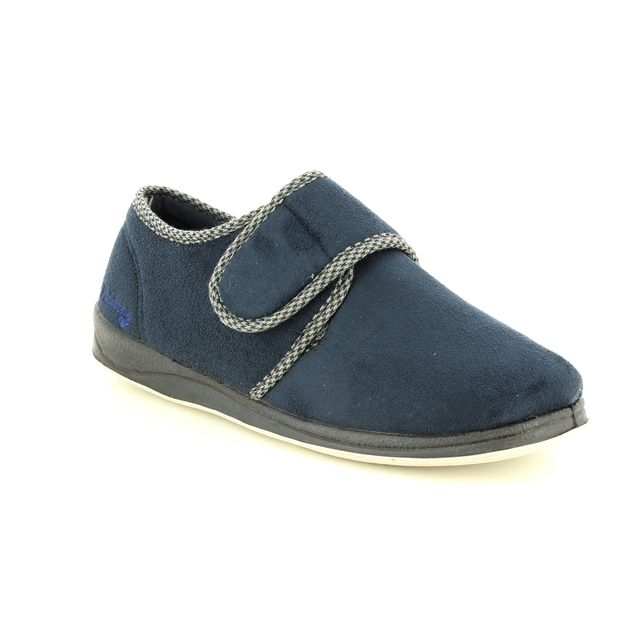 Padders Slippers - Navy - 0410/24 HARRY  G FIT