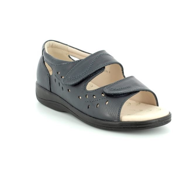 Padders Sandals - Navy - 0766/24 HEATWAVE 2E FI