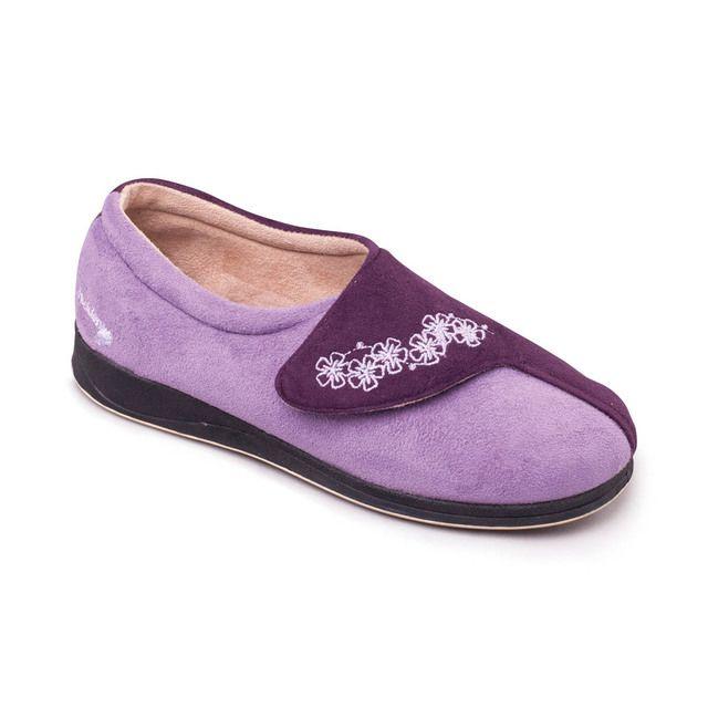 Padders Slippers - Purple multi - 424-78 HUG