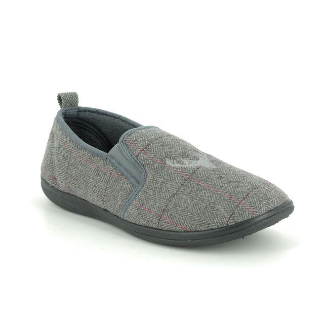 Padders Slippers - Grey multi - 0489-97 HUNTSMAN G FIT