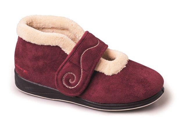 Padders Slippers - Red - 409-81 HUSH